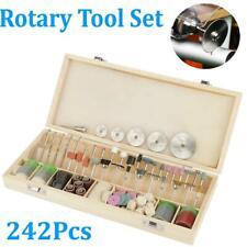 242Pcs Rotary Tool Accessories Bit Set Polishing Kit Sets For Dremel Grinding US