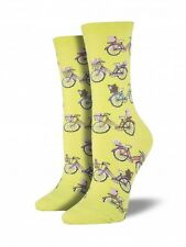 Socksmith Vintage Bike Women's Sock (6-10) Kiwi