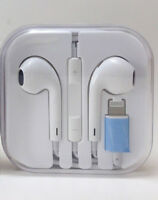 Apple iPhone 7 7+  iPhone 8 iPhone X Earbuds Headphone Lightning Wired Bluetooth