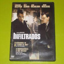DVD.- INFILTRADOS - LEONARDO DICAPRIO - MARTIN SCORSESE
