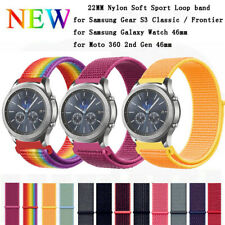 Woven Nylon Sport Loop Watch Band Bracelet For Amazfit Huami Smart watch 22mm