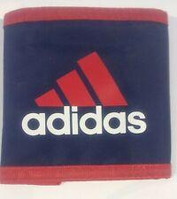 Adidas Velcro Wallet Red & Blue Retro Zip
