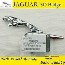 JAGUAR Emblem Zinc Alloy 3D Car Badge  Hood Badge Head Mark Symbolize Logo