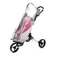Golf Bag Rain Cover PVC Transparent Waterproof Ball Poncho Bags Golf Equipment