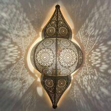 Orientalische Indische Wandlampe Priya Schwarz