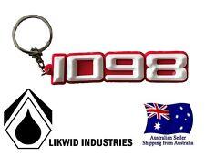 Ducati 1098 Key Ring Chain Likwid Motorbike Keyring Keychain