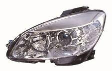 Mercedes Benz C Class (W204) 2007-2010 Headlight Passenger Side Left