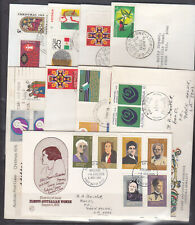 FDCS: SELECTION OF 9 COVERS IN GOOD CONDITION