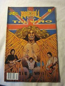 Rock N Roll Comics #7 The Who (Revolutionary Comics 1990) FN+ FP