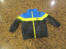 NIKE 24M Toddler Boys Girls Track athletic Jacket Full Zip up blue yellow infant