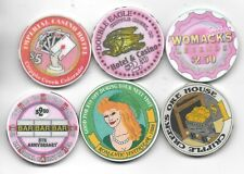 Great Selection Of Casino Chips Various Casinos Through Out Colorado-Lot 3