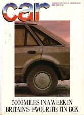 Cars, 1980s