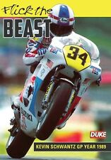 FLICK THE BEAST KEVIN SCHWANTZ GP YEAR 1989 DVD. PEPSI SUZUKI 52 Min. DUKE 1951N