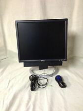 "Dell UltraSharp 2001FP 20""  LCD Monitor VGA DVI USB + *  SOUND BAR *"