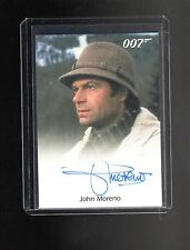 James Bond 50th Anniversary John Moreno auto card