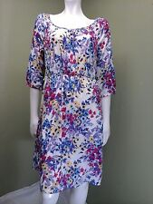 OLD NAVY Women's Multi-Colored Floral Dress~Size M