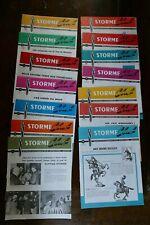 Cafés STORME Club N° 1 à 14 Revue mensuelle Papier publicitaire Café Storme 1965