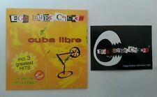 EGG BITES CHICKEN Cuba Libre 4 Song CD + Video + Sticker NEU RAR | Hannover Rock