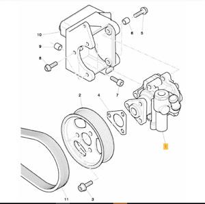 Bentley Continental Flying Spur,GT,GTC Power Steering Pump 3W0422154K
