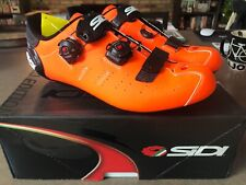 Sidi Limited Edition Ergo 5 Road Cycling Shoe (44.0) Orange/Black