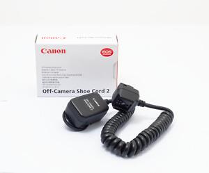 Canon Off-Camera Shoe Cord II TTL E-TTL *New
