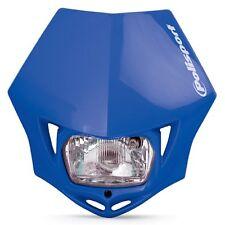 New Polisport MMX Headlight Enduro Road Legal Blue
