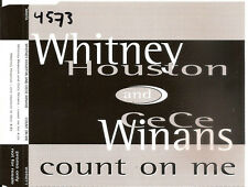 WHITNEY HOUSTON & CECE WINANS - count on me PROMO CDM 2TR EU REL. 1995