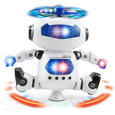 Music Toy Electronic Walking Dancing Smart Space Robot Astronaut for Kids