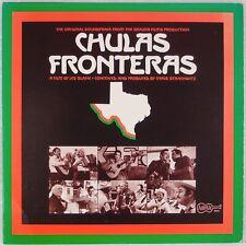 CHULAS FRONTERAS: Soundtrack '76 Mexican Folk Vinyl LP Arhoolie