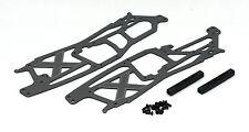 HPI SAVAGE X 4.6 1/8 TVP Aluminium chassis, brace & hardware set