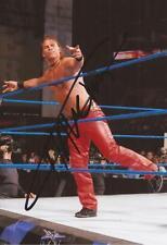Wwe Wrestling: Curt Hawkins firmado 6x4 foto de acción + Certificado de autenticidad Prueba ** **