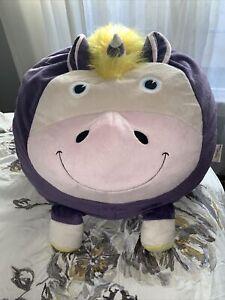 Big Joe Bean Bagimal Unice The Unicorn w/o Little Buddy