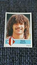 RUUD GULLIT 1987 PANINI STICKER '87 DUTCH ISSUE – AC MILAN FEYENOORD PSV - RARE