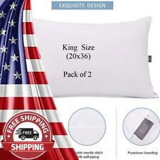 King Size Pillows for Sleeping, Bed Pillows 2 Pack Pillows for Side Back Sleeper