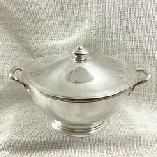More details for art deco silver plated tureen serving bowl ercuis hotel george v paris france