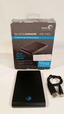Seagate BlackArmor PS 110 Slim 500GB USB 2.0 External Hard Drive