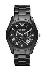 Emporio ARMANI AR1400 Ceramica Chronograph Mens Quartz Watch