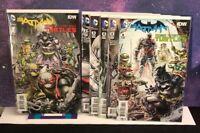 DC/IDW COMICS;  BATMAN / TEENAGE MUTANT NINJA TURTLES #1,2,3,4,5,6,