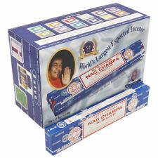 Satya Nag Champa Incense Agarbatti Sticks - 12 Packs -  Fresh Genuine Stock