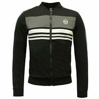 Sergio Tacchini Mens Ishen Track Top Zip Up Jumper Jacket 37689 177 X6A