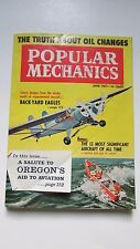 Aviation Salute Popular Mechanics June 1961,Oregon,Radio to AM/FM,Crafts,BoatsVG