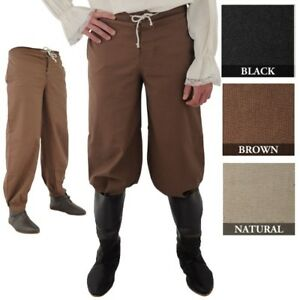 Pirate Pants Medieval Renaissance rendezvous Cosplay LARP SCA Costume