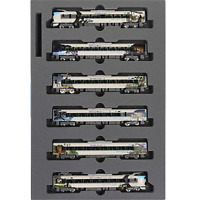 Kato 10-1506 287 Type Panda Kuroshio Smile Adventure Train 6 Cars Set - N