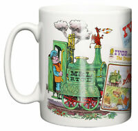 Dirty Fingers Mug, Ivor the Engine TV series 1970's Retro Gift
