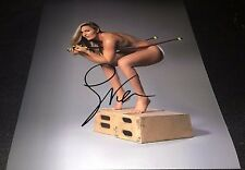 Lindsey Vonn Full Nude Covered Olympic Skiing Signed 11x14 Photo COA Proof