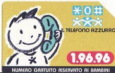 1-Scheda telefonica Telecom Il Telefono azzurro sc.12/1999 lire 5.000
