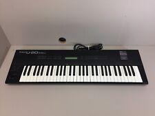 Roland U-20 RS-PCM Black Electronic KeyboardSynthesizer