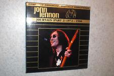 John Lennon - Journals Part 2, 1972 - 1980 - 5 CD  Box Set - very rare