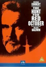 The Hunt For Red October [DVD] [1990]  Sean Connery, Alec Brand New and Sealed