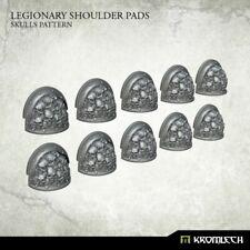 CHAOS SPACE MARINES legionary shoulder pads skull pattern NEW 40K Kromlech